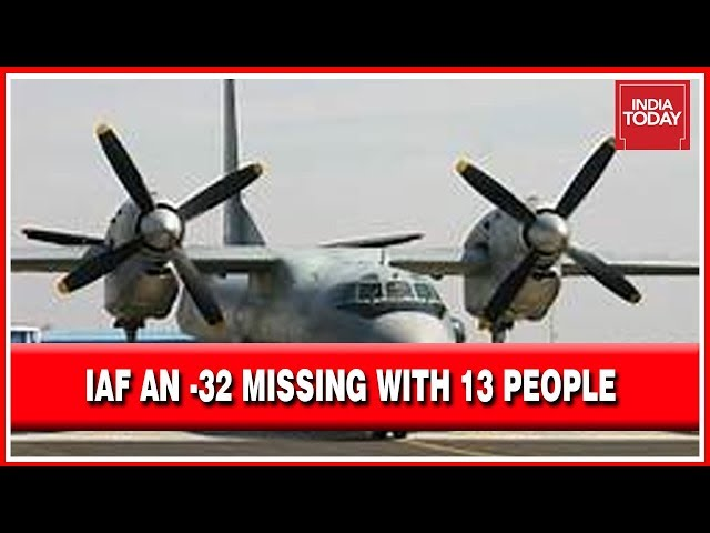Indian Air Force Flight With 13 Crew Members Still Remaing Missing - Indian Government Announces Reward For Any Info