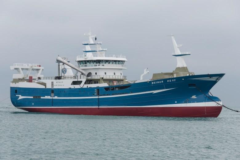 Nya HG 62 Beinur anländer till Skagen. Bild: Jimmy Romanowski