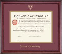 Harvard Extension School Certificate Frame