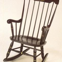 Black Rocking Chairs Chair Covers Rental Toronto Harvard W Silk Screen