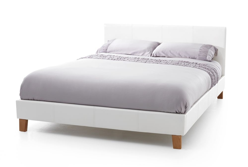 Tyrol White Double Bed Frame