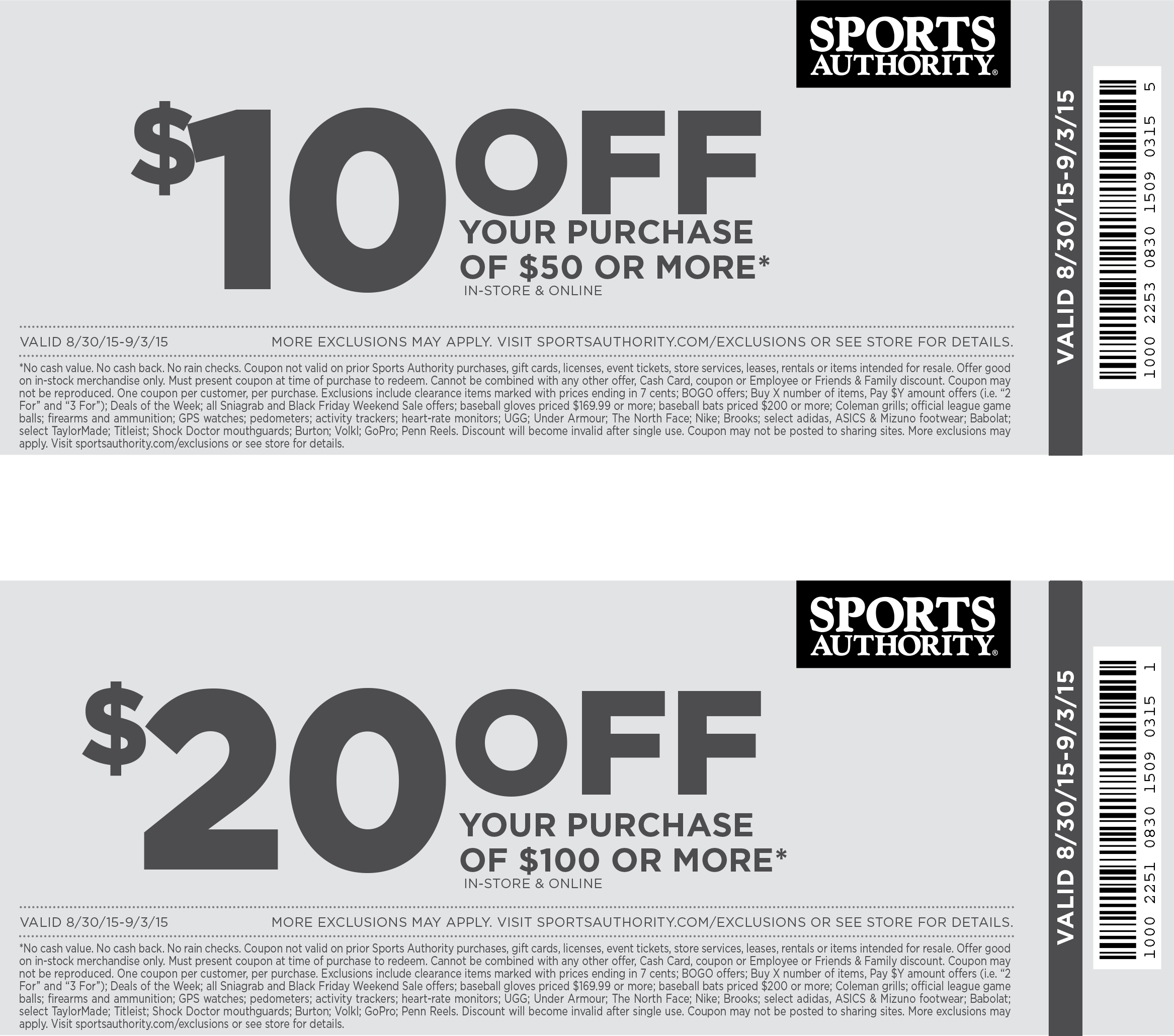 academy sports coupons printable store