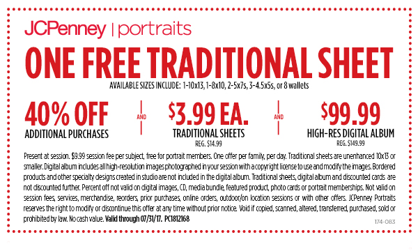 jcpenney coupons free 10x13
