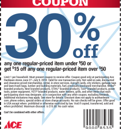 ace hardware coupon july 2019 30 off a single item more at ace hardware [ 1009 x 1171 Pixel ]