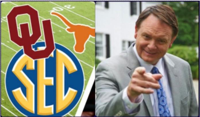 Oklahoma and Texas