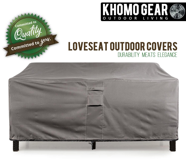 sofa cover storage bag la z boy atlanta 2 seater power recliner brown leather patio lounge waterproof heavy duty outdoor