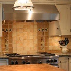 Craftsman Kitchen Backsplash Items North Prairie Tileworks Old House Online