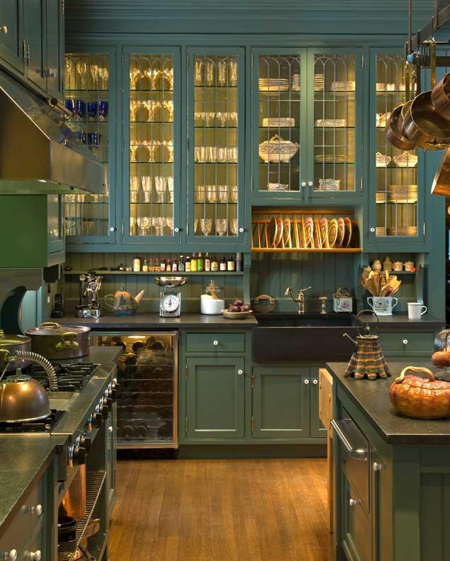 Old Victorian Kitchen New Style