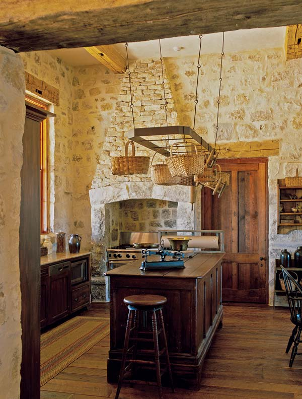 Rustic Kitchen for a Texas Farmhouse  OldHouse Online