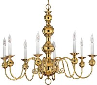 The Best Chandeliers for Colonial-Era Houses - Old-House ...