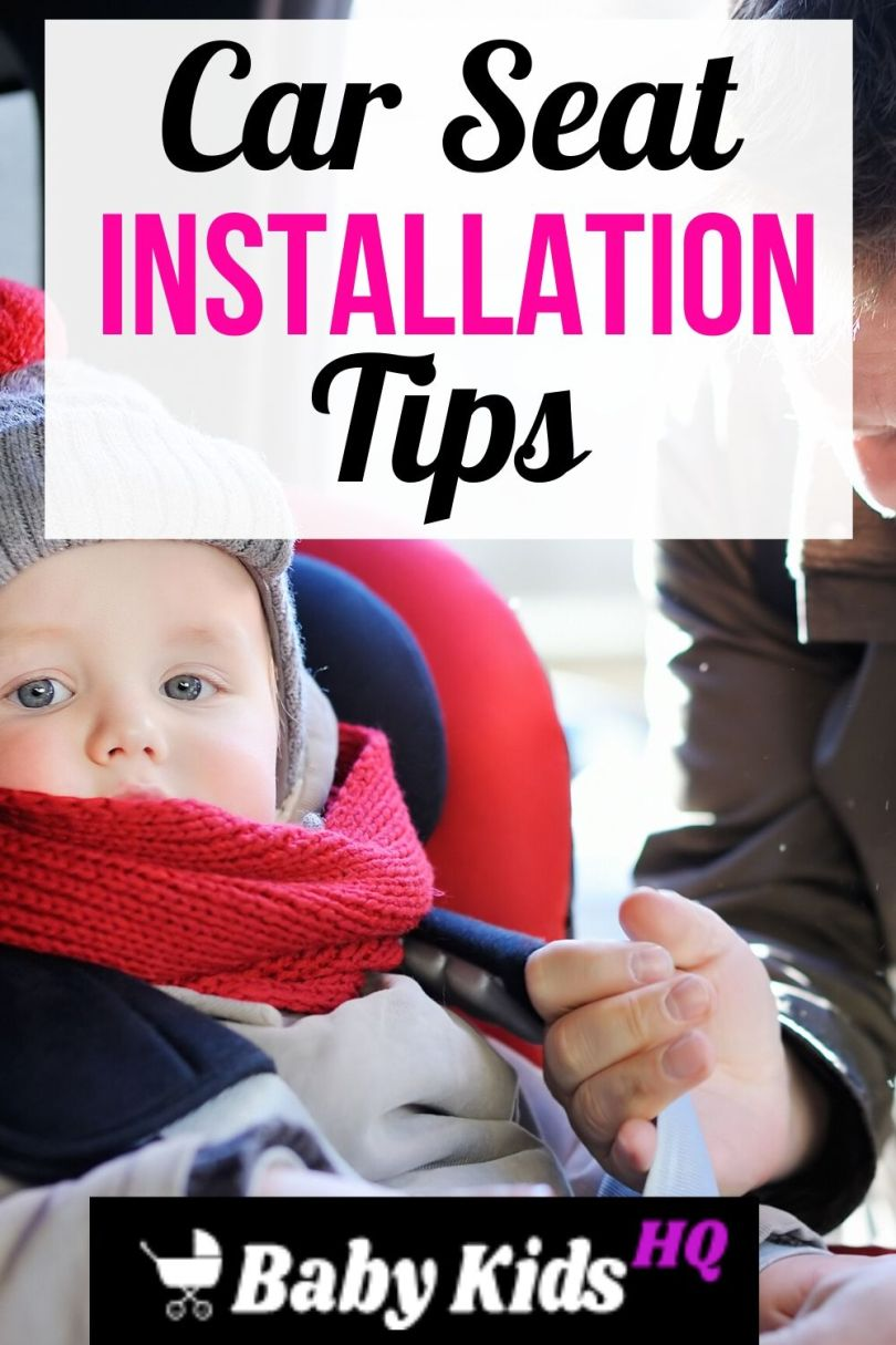 Car Seat Installation Tips How to Install Safely (