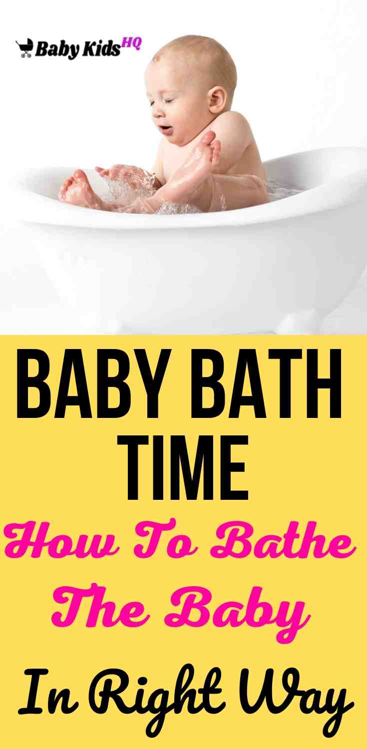 Baby Bath Time: How To Bathe The Baby In Right Way? 2