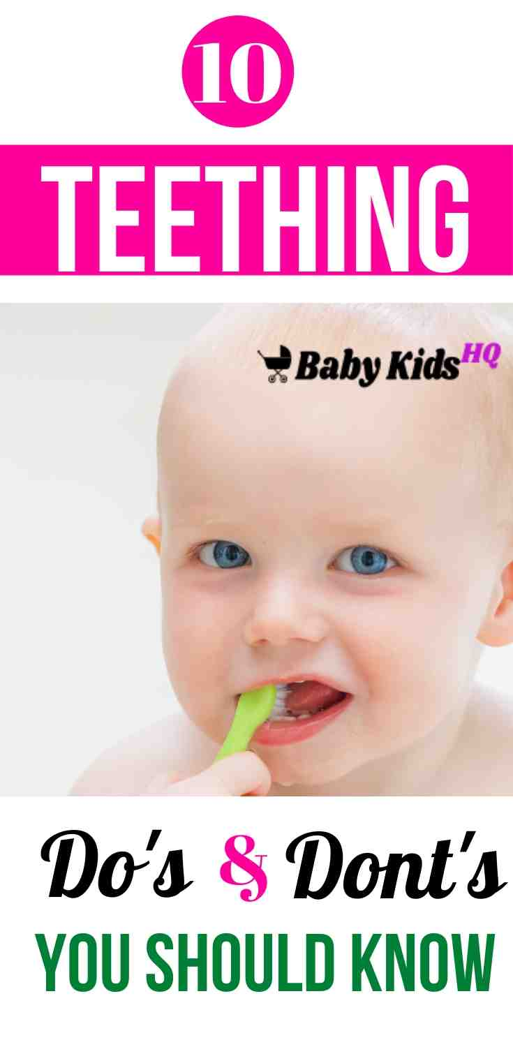 10 Teething Do's and Don'ts Every New Mom Should Know About!! 2