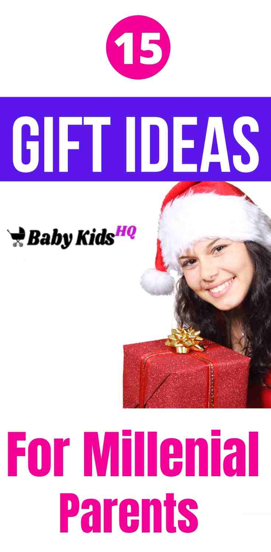 15 Gift Ideas For Millennial Parents 3