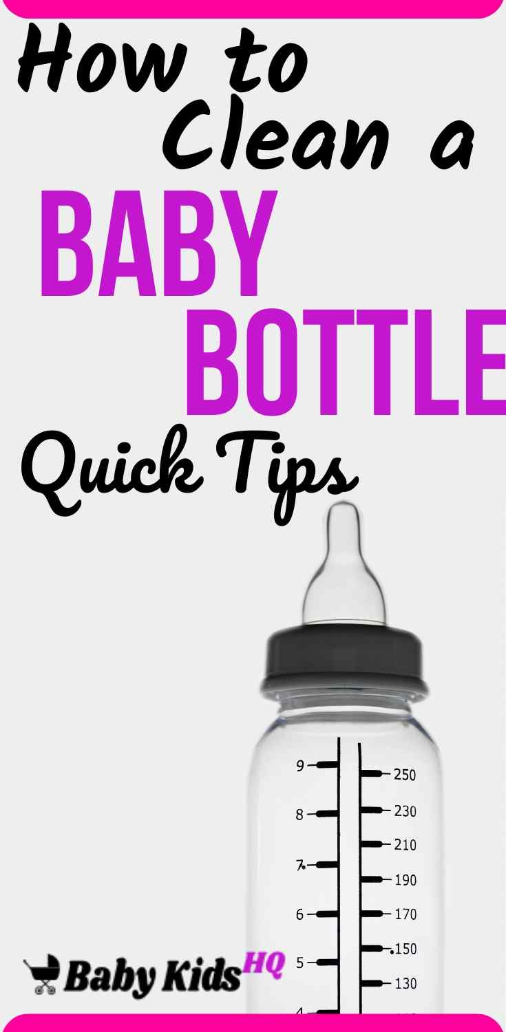 Cleaning a baby bottle can be one of the most challenging jobs related to baby bottle feeding. One must adopt good methods of cleaning which has to be done systematically every day to get the desired level of hygiene necessary for babies to stay healthy. Normally, mothers find it difficult to keep the baby bottle clean just because they resort to bad practices like keeping dirty bottles overnight only to be washed the next day.
