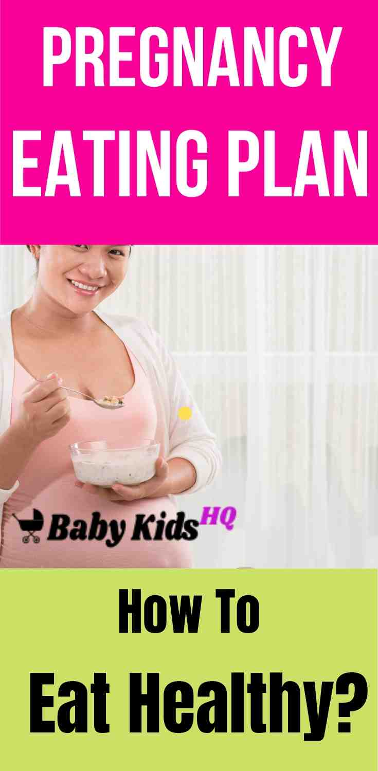 Pregnancy Eating Plan: How To Eat Healthy!! 2