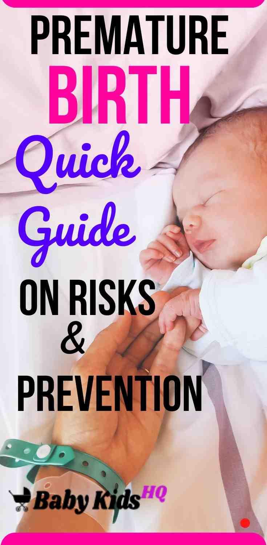 Premature Birth Quick Guide On Risks & Prevention