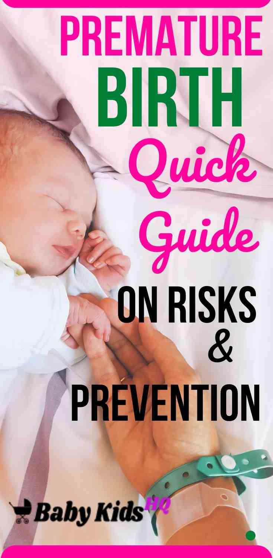 Premature Birth: Quick Guide On Risks & Prevention 4