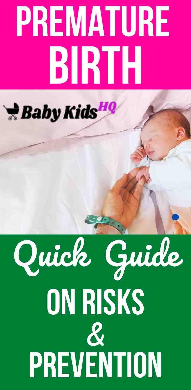 Premature Birth: Quick Guide On Risks & Prevention 3