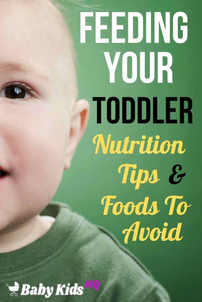 At 1 to 2 Year Old, toddlers are transitioning from the foods and eating habits they had as infants toward a diet more like your own. Your job is to keep broadening your child's palate by introducing new flavors and textures.