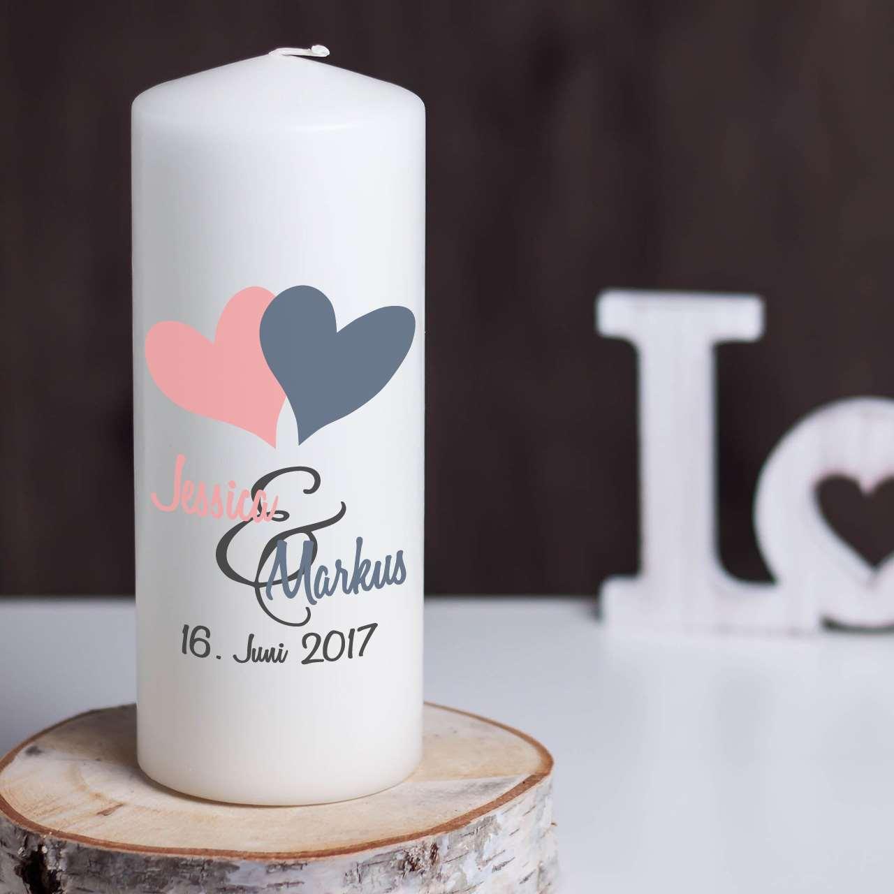 Hochzeitskerze  Traukerze  Online kaufen  Hochzeitidealde