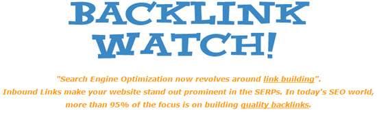Backlink Watch