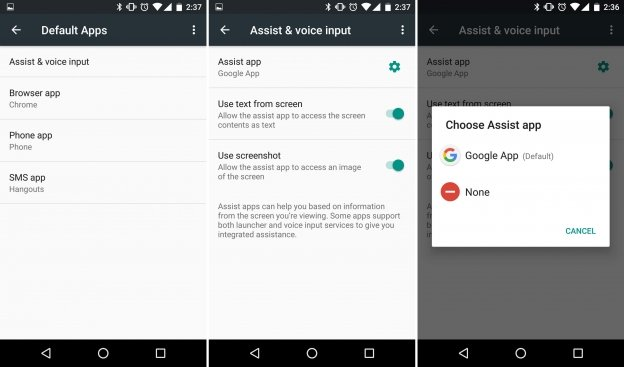 Build Android App - Develop Your Android App with Android's Assist API
