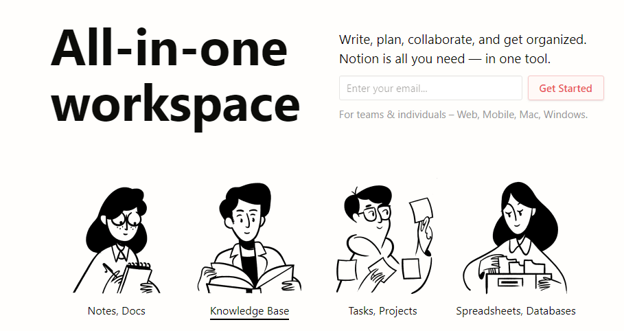 Note-Taking App Development: Consider 4 Features from Notion