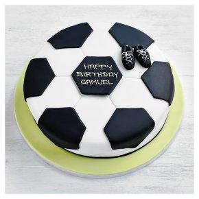 Fiona Cairns Football Cake 25cm Waitrose Partners