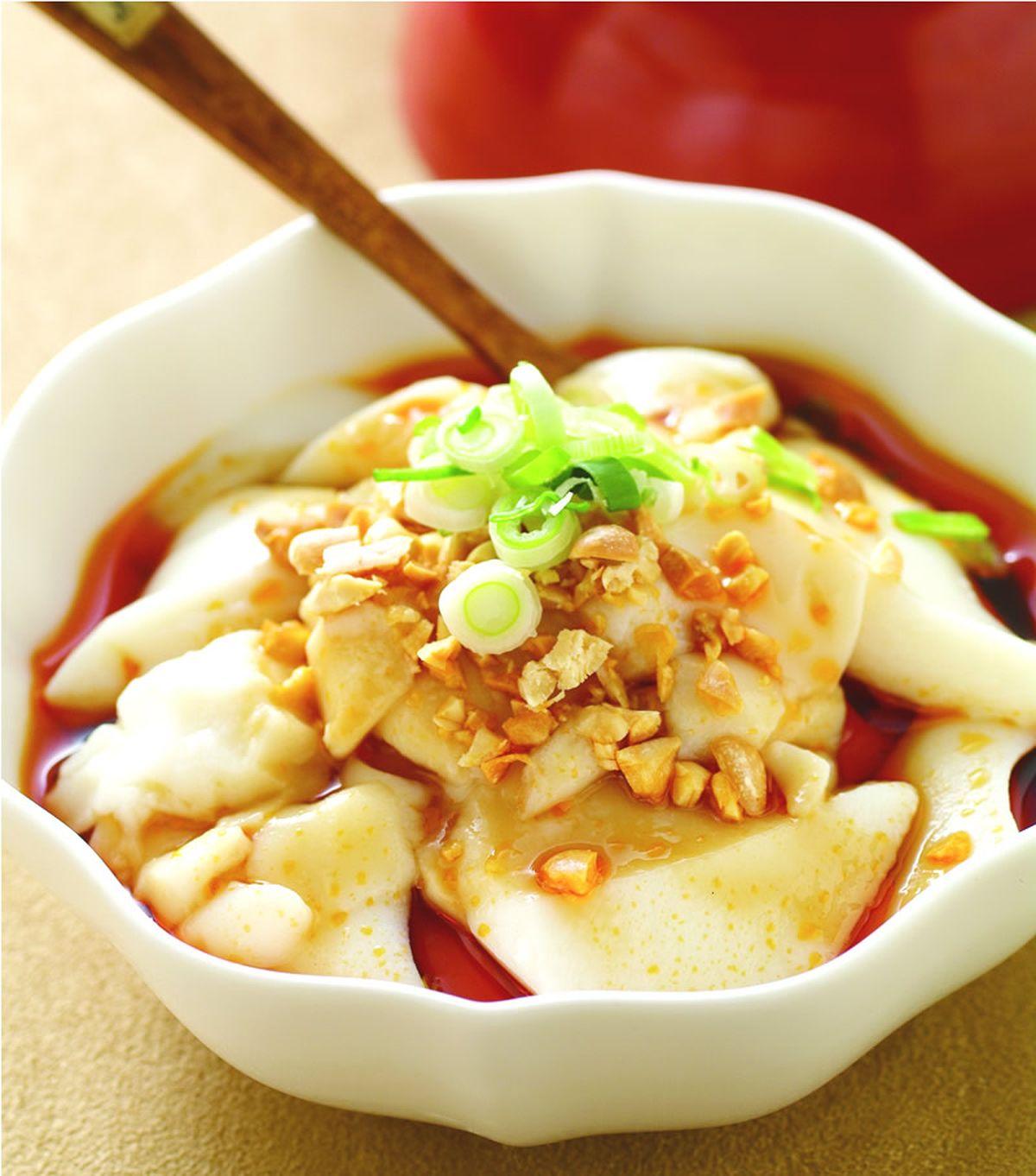 【食譜】酸辣豆腐腦:www.ytower.com.tw