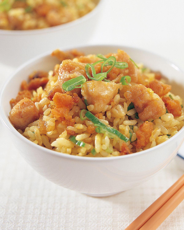 【食譜】咸魚雞粒炒飯:www.ytower.com.tw
