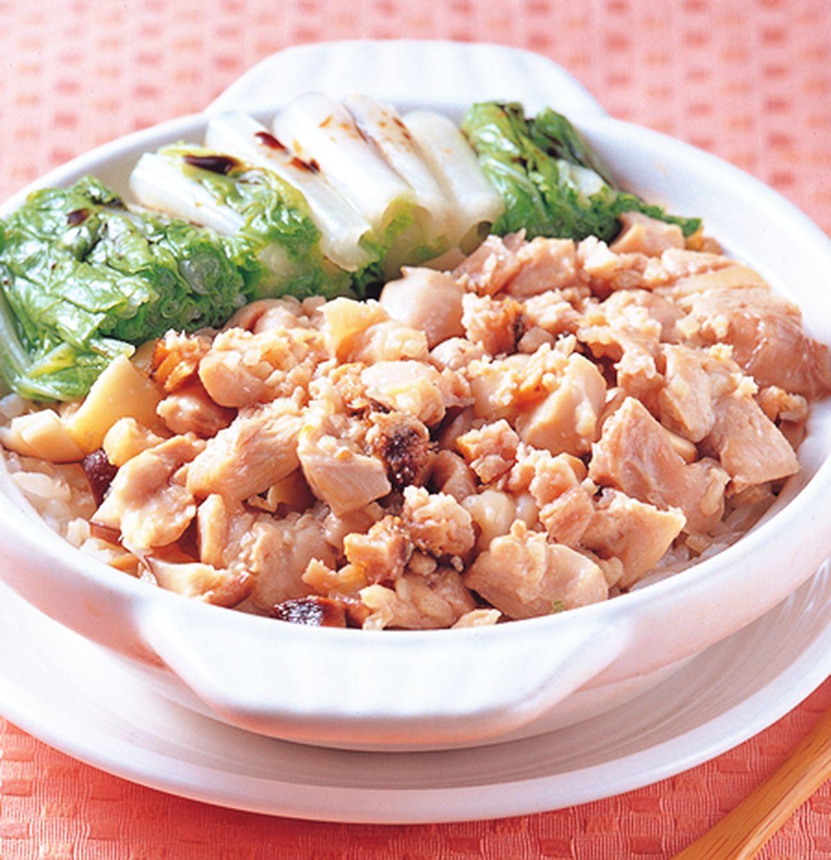 【食譜】鹹魚雞粒煲飯:www.ytower.com.tw