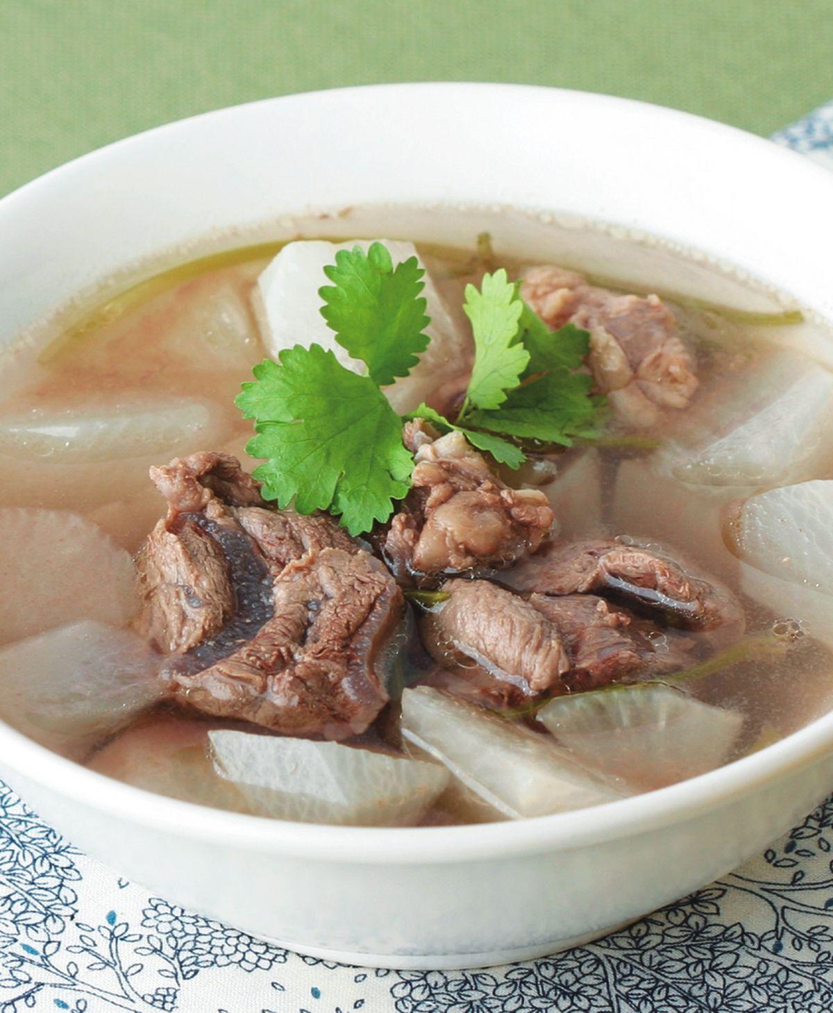【食譜】清燉牛肉湯(1):www.ytower.com.tw