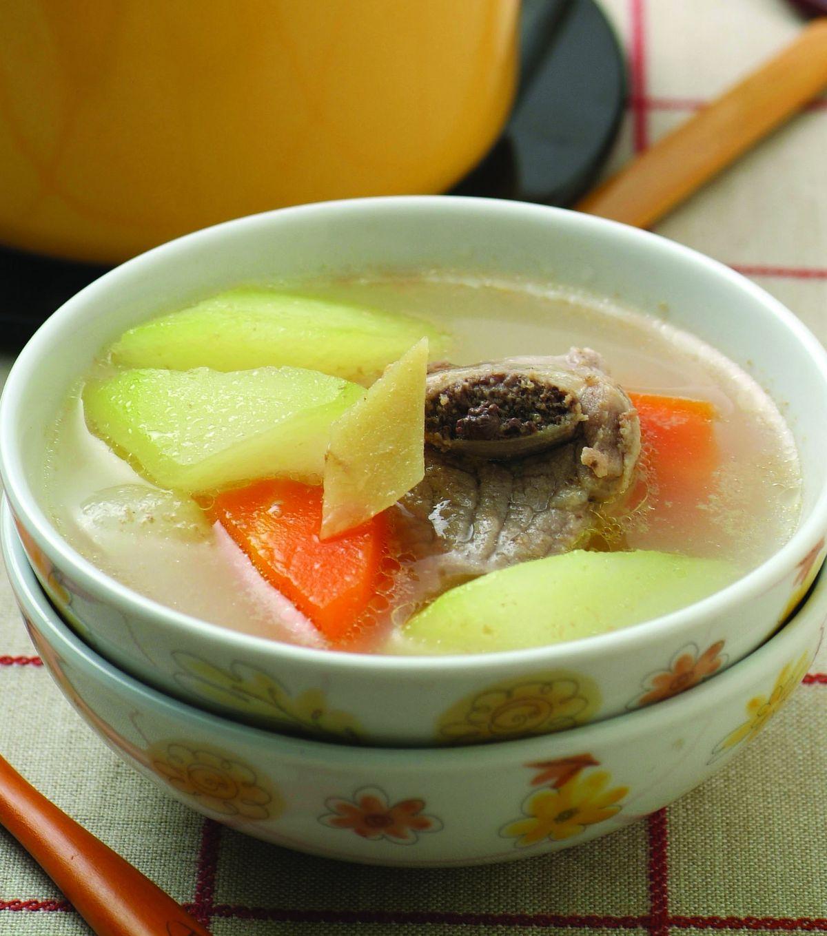 【食譜】青木瓜蘿蔔排骨湯:www.ytower.com.tw