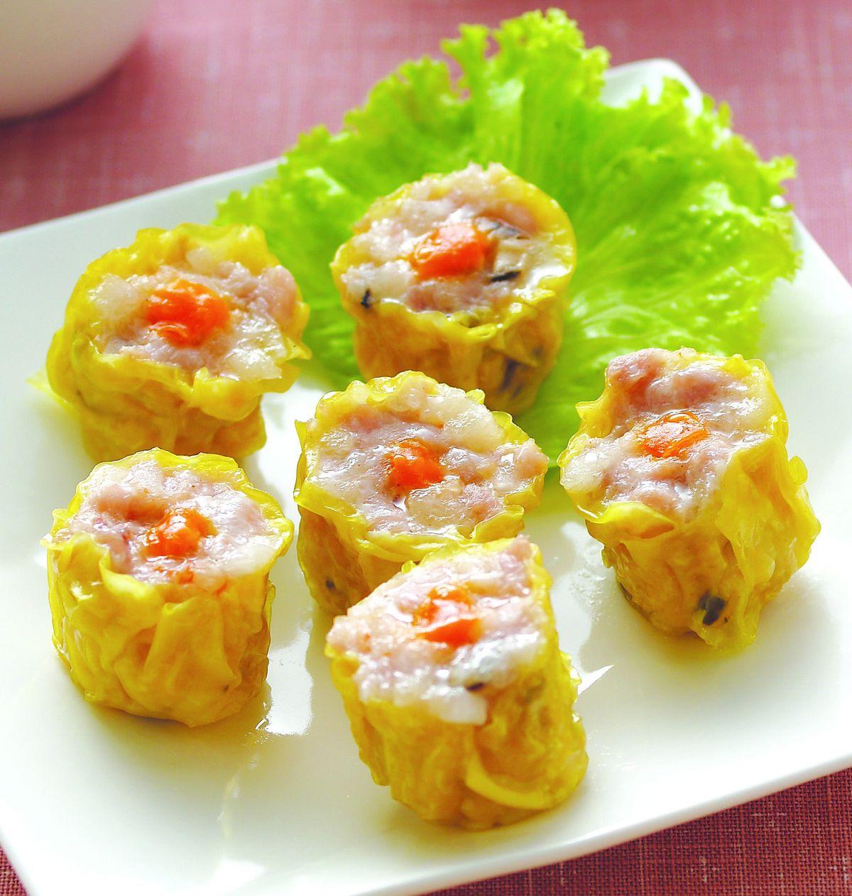 【食譜】港式蟹黃燒賣:www.ytower.com.tw