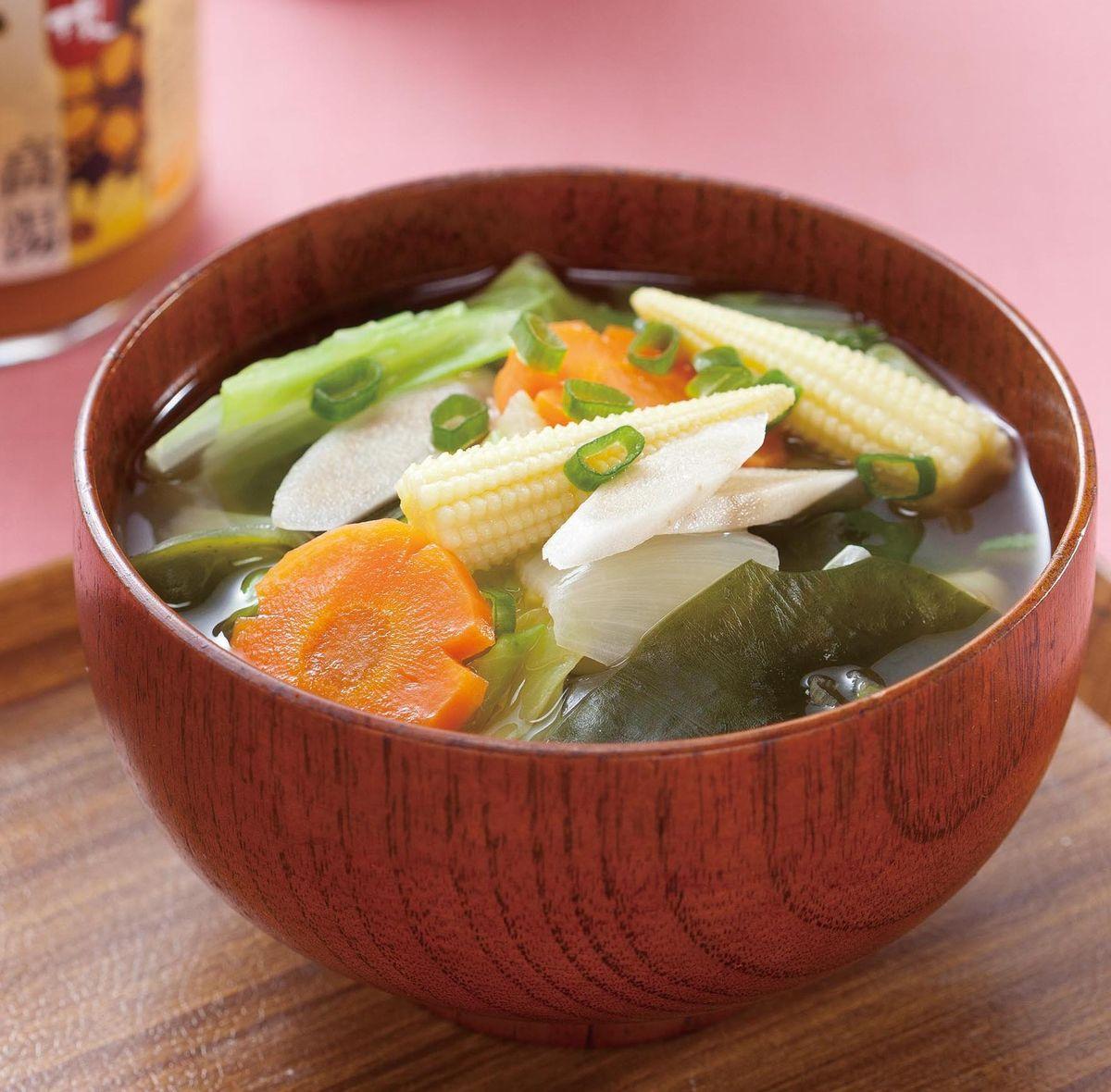 【食譜】蔬菜味噌湯(1):www.ytower.com.tw