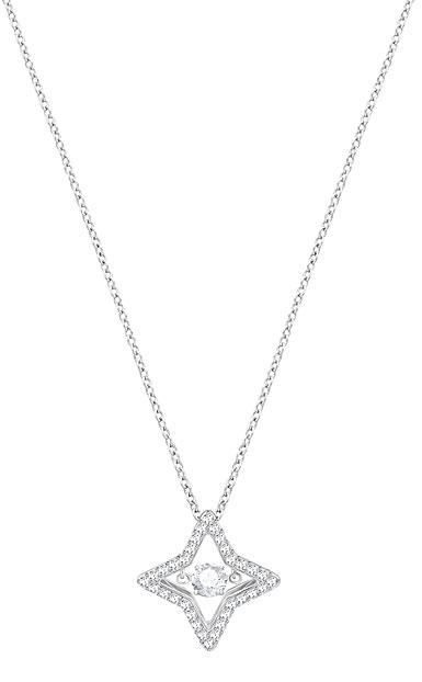 Swarovski Sparkling Dance Small Star Crystal Pendant Necklace