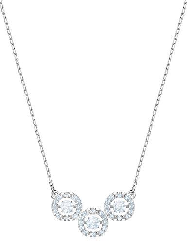 Swarovski Jewelry, Sparkling Necklace Trilogy Crystal
