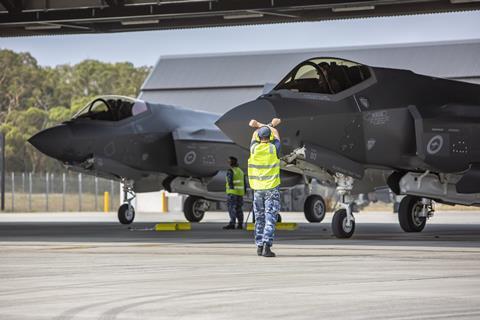 RAAF F-35As