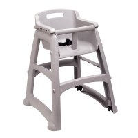 "Rubbermaid FG780508PLAT 29.75"" Stackable High Chair w ..."