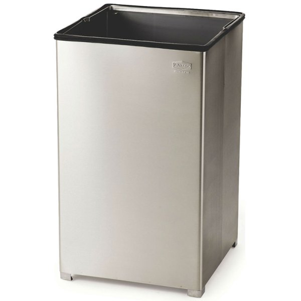 Rubbermaid 40 Gallon Metal Trash Can