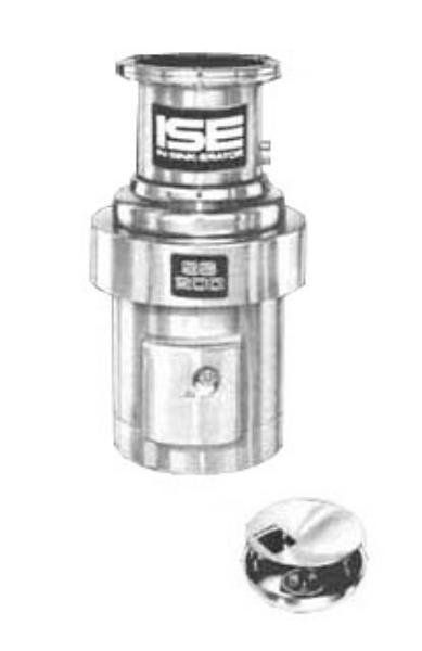 InSinkErator SS-200-12A-MS Complete Disposer Package, 2 HP