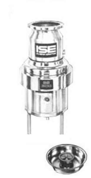 InSinkErator SS-300-12B-MS Complete Disposer Package, 3 HP