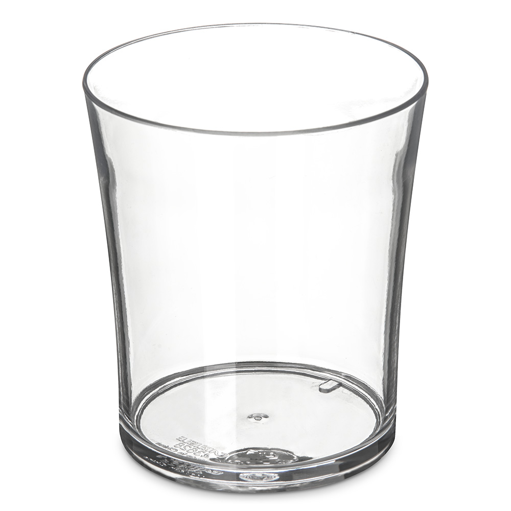 Carlisle 4362807 8-oz Old Fashioned Glass, Polycarbonate