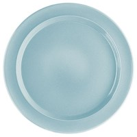 Emile Henry 458878 11 in Ceramic Dinner Plate, Sky Blue