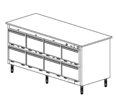 Duke 1204P 2403 Pass Thru Heated Holding Cabinet, 1