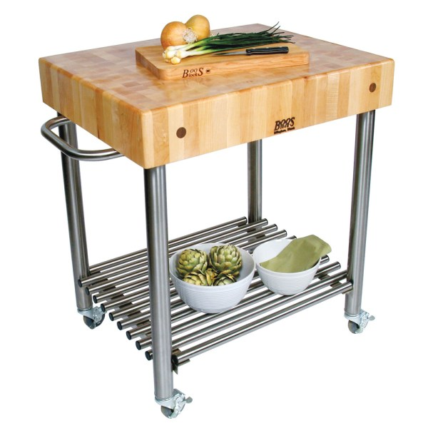 Costco Stainless Steel Kitchen Cart