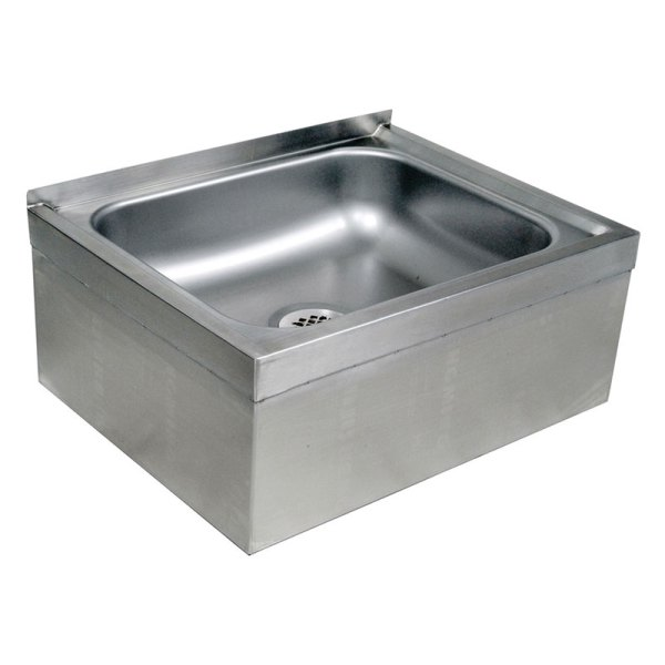 "John Boos Ems-2016-12 Floor Mount Mop Sink With 12"" Bowl"