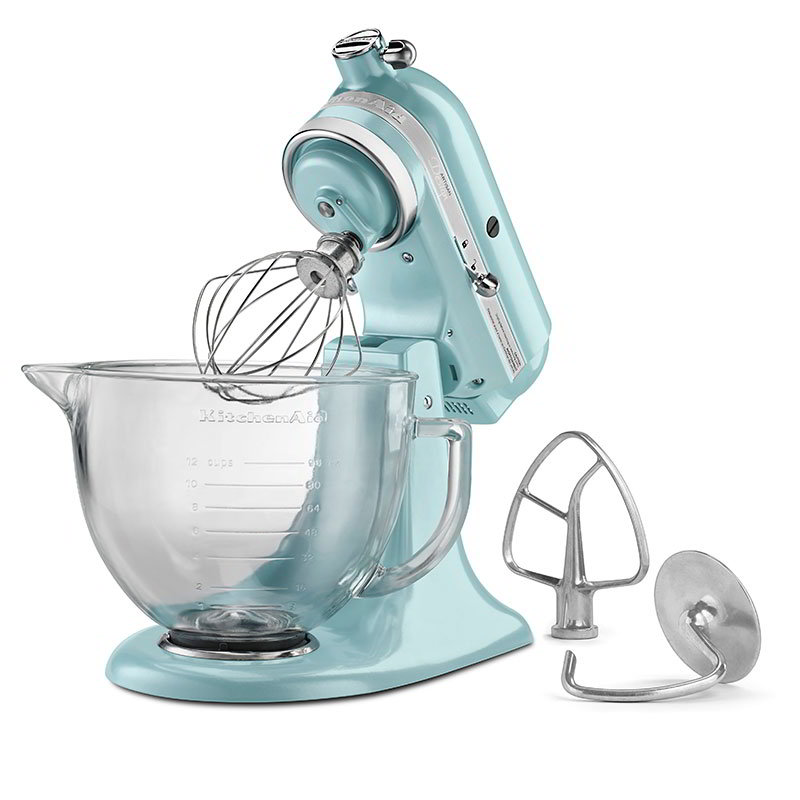 kitchen aid glass bowl modern lights electric turkish coffee grinders gumtree kitchenaid artisan 5 quart this stylish stand mixer also has a with measurement markings on the side and comfortable handle proceeds benefit cook for