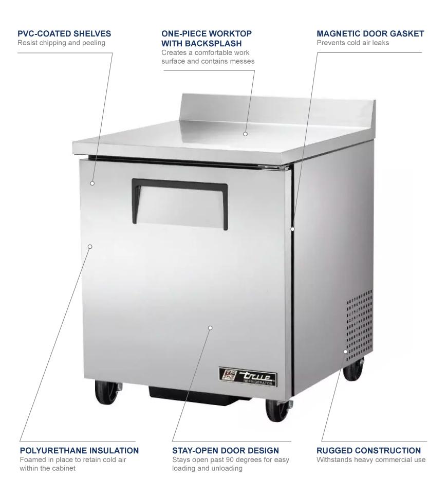 medium resolution of true twt 27 hc 28 worktop refrigerator w 1 section 1 right wiring diagram for twt 27 true true